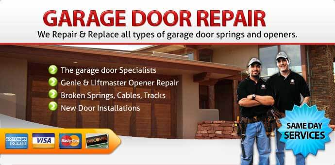Garage door repair Long Beach CA